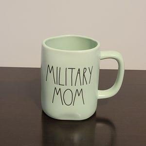 """Rae Dunn """"MILITARY MOM"""" Mug """
